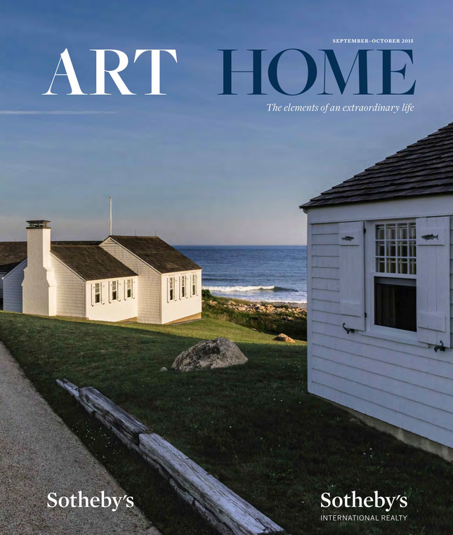ART + HOME, SEPT-OCT 2015 EDITION