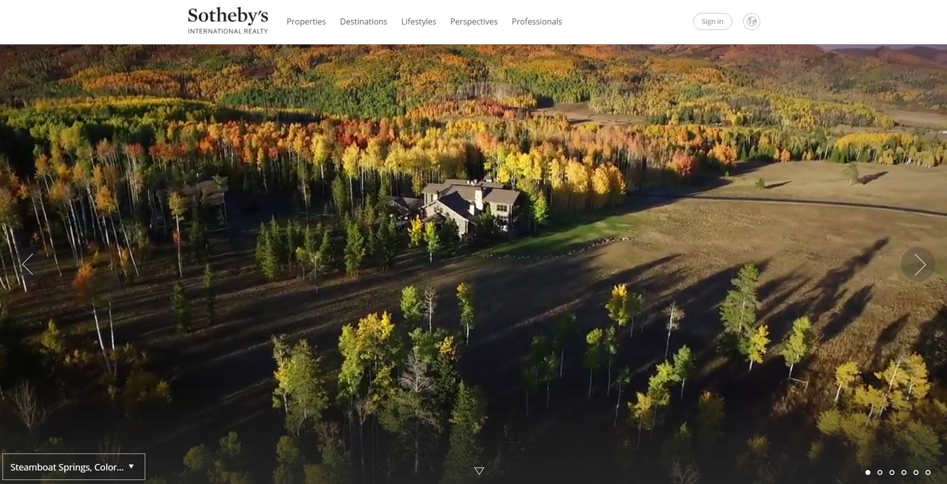 SNOWY MOUNTAIN RANCH VIDEO FEATURED ON SIR.COM HOME PAGE