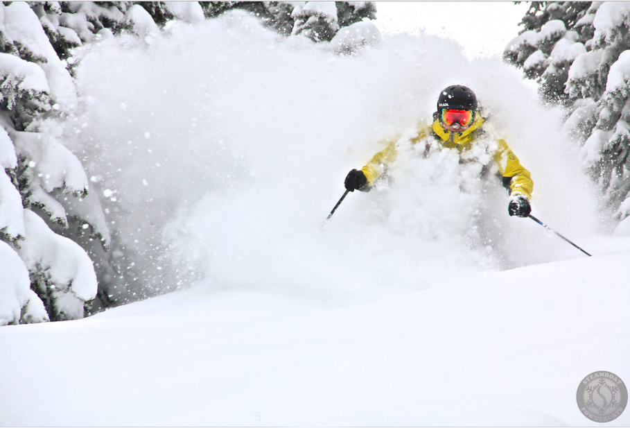 POWDER ON THE SIDE