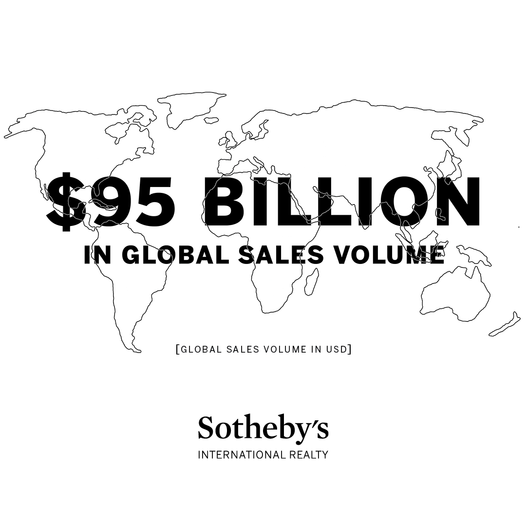 SOTHEBY'S INTERNATIONAL REALTY ACHIEVES $95B IN SALES VOLUME IN 2016