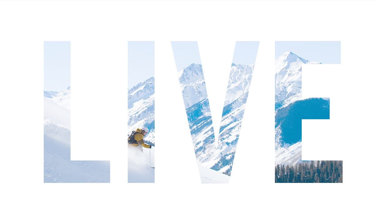 LIVE SKI | OUR EXCLUSIVE NEW VIDEO