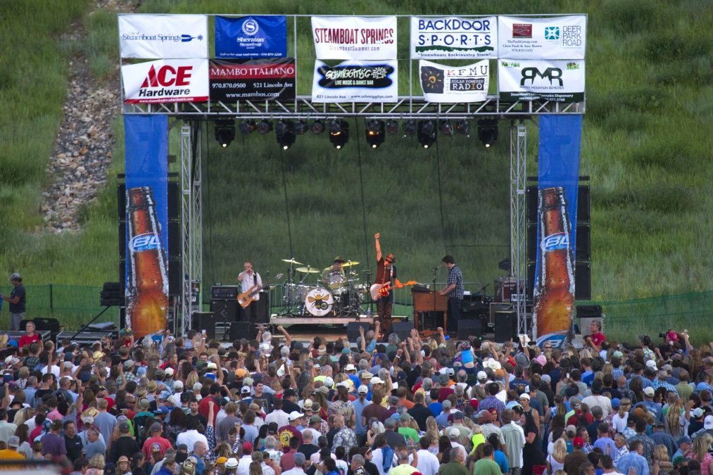 KEEPIN IT FREE: STEAMBOAT'S FREE SUMMER CONCERTS TO RETURN WITH 2 CONCERTS THIS SUMMER