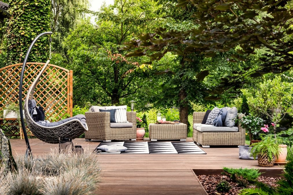 OUT THERE: HOW TO BRING THE INDOORS, OUT