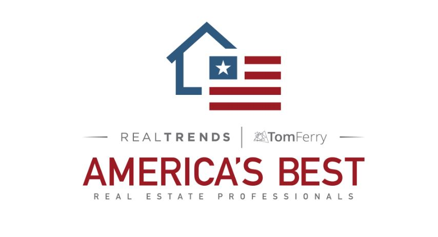REAL TRENDS RECOGNIZES AMERICA'S BEST REAL ESTATE PROFESSIONALS