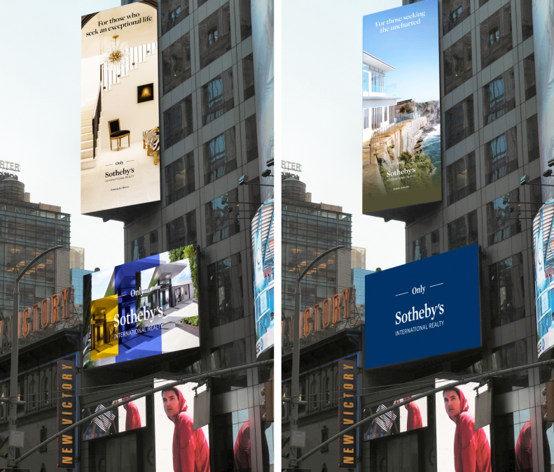 SOTHEBY'S INTERNATIONAL REALTY ANNOUNCES NEW CAMPAIGN IN TIMES SQUARE