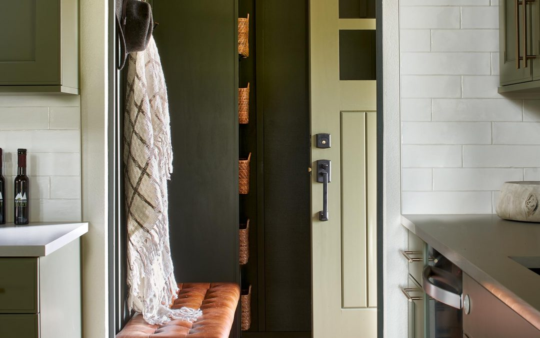 CLEAR AS MUD: DESIGNING THE PERFECT MUDROOM