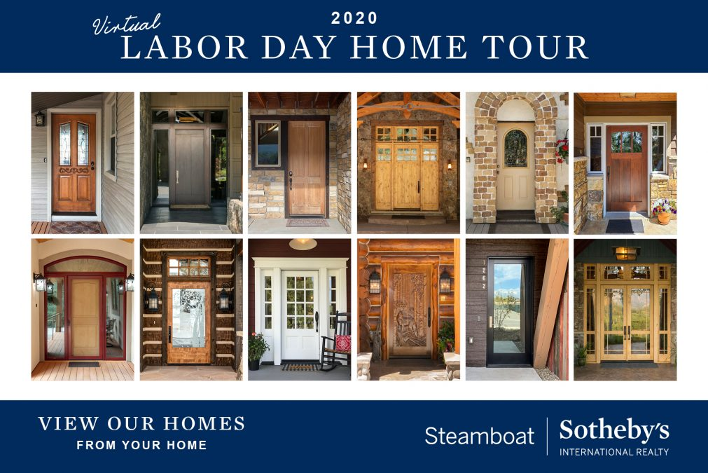 STEAMBOAT SOTHEBY'S INTERNATIONAL REALTY TO HOST VIRTUAL LABOR DAY OPEN HOUSE TOUR