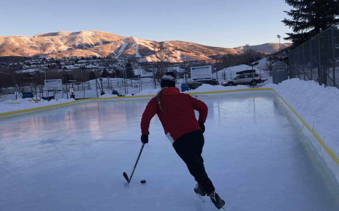 IF YOU BUILD IT, THEY WILL COME: STEAMBOAT'S NEW FREE OUTDOOR ICE RINK
