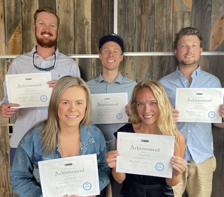 STEAMBOAT SOTHEBY'S BROKERS GRADUATE FROM BUFFINI & COMPANY TRAINING PROGRAM