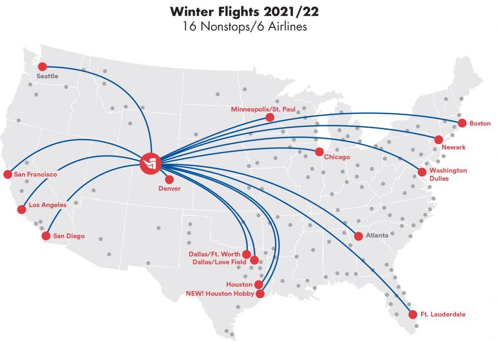 WINTER 2021/2022 FLIGHTS ANNOUNCED