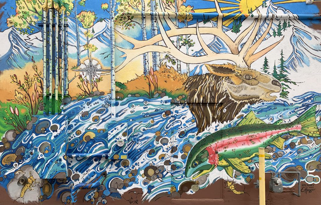 AN OUTDOOR ART GALLERY: A GUIDE TO STEAMBOAT'S DOWNTOWN MURALS