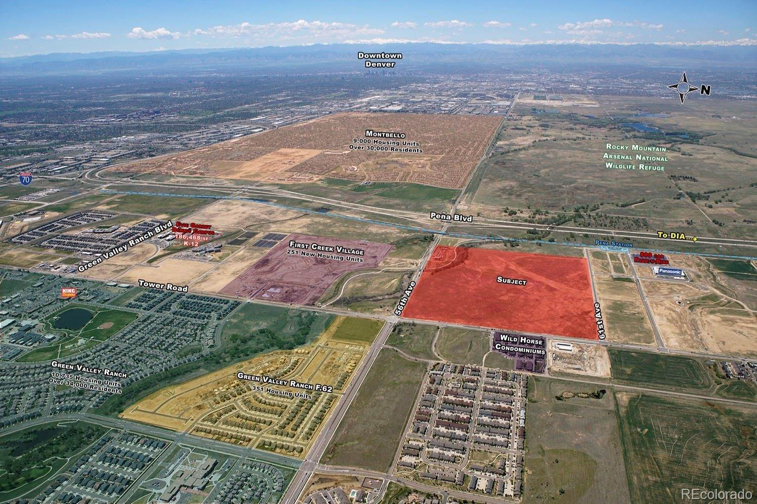 Land for Sale at 5607 Tower Road Denver, Colorado 80249 United States