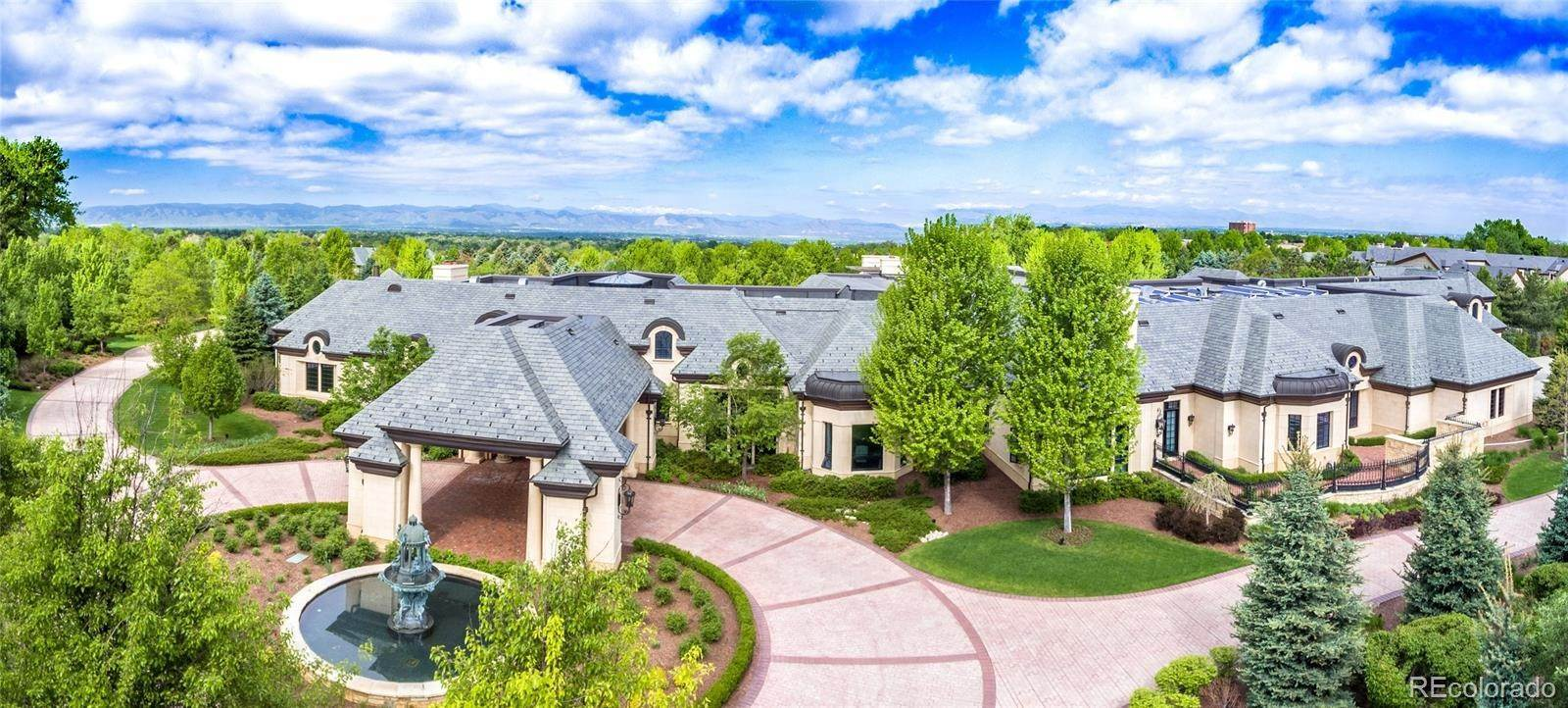 Single Family Homes for Sale at 8 Cherry Hills Park Drive Cherry Hills Village, Colorado 80113 United States
