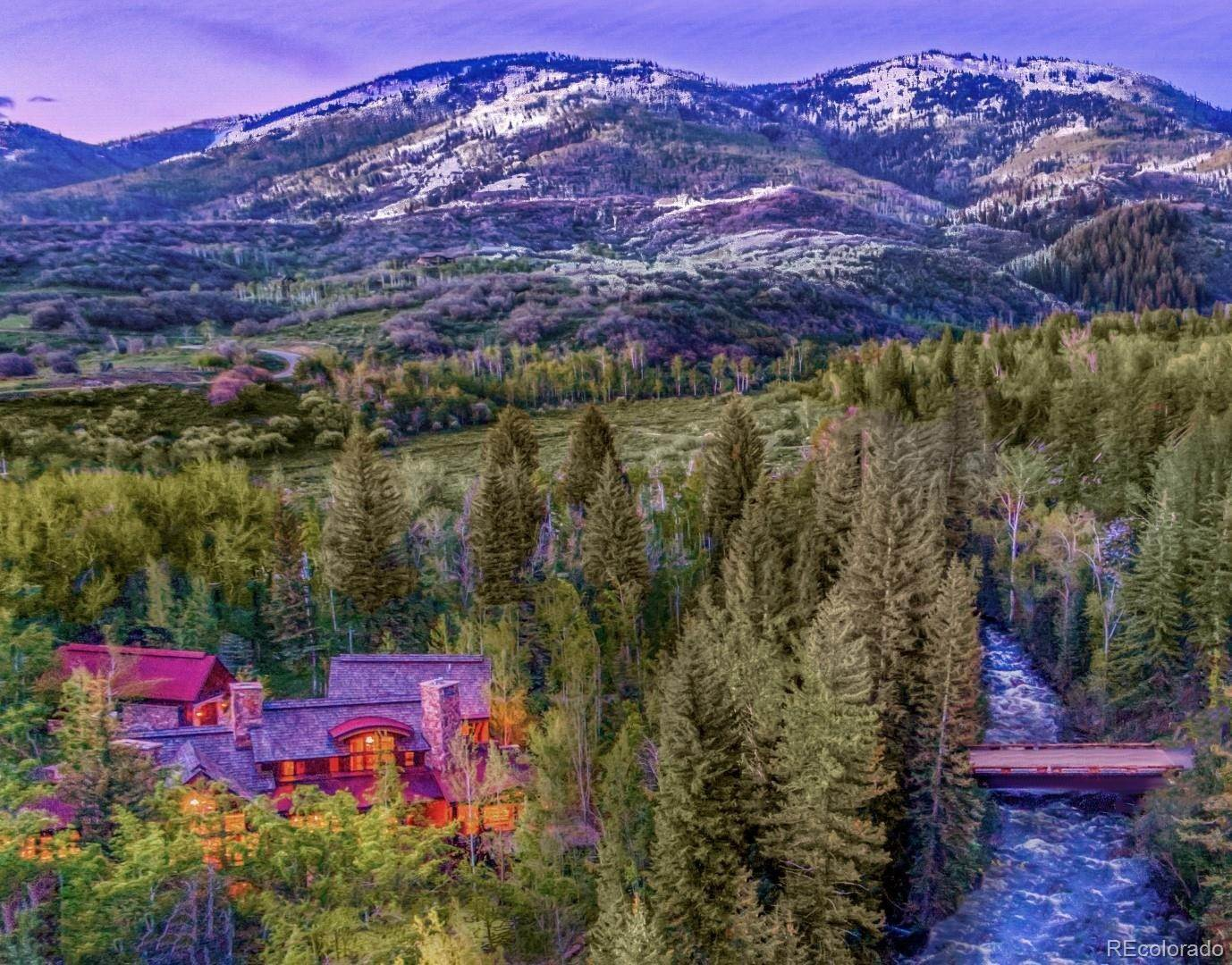 Single Family Homes for Sale at 33550 Rushing Water Lane Steamboat Springs, Colorado 80487 United States