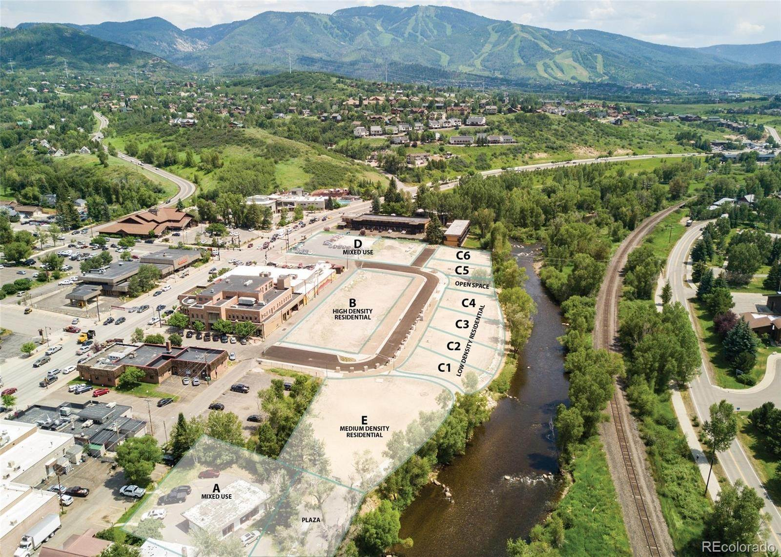 Land for Sale at Lincoln Ave. - Riverview Parcel D Steamboat Springs, Colorado 80487 United States