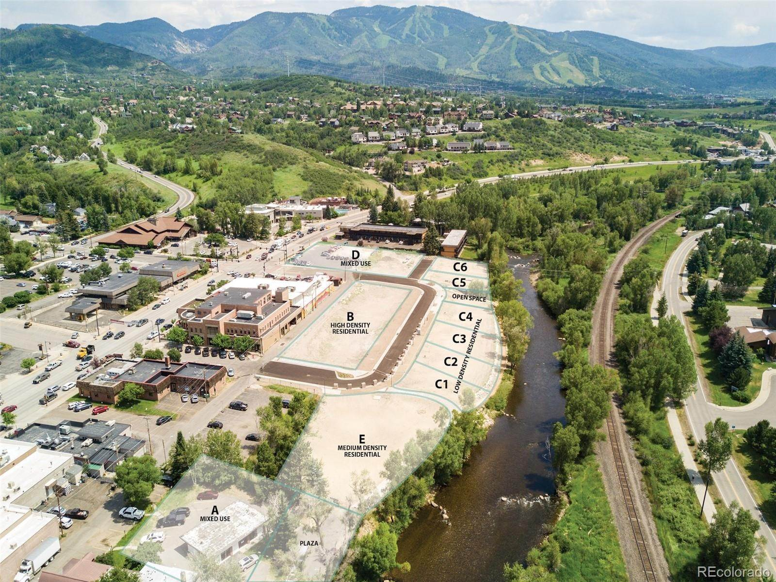 Land for Sale at 446 Yampa St-Riverview Parcel E Steamboat Springs, Colorado 80487 United States