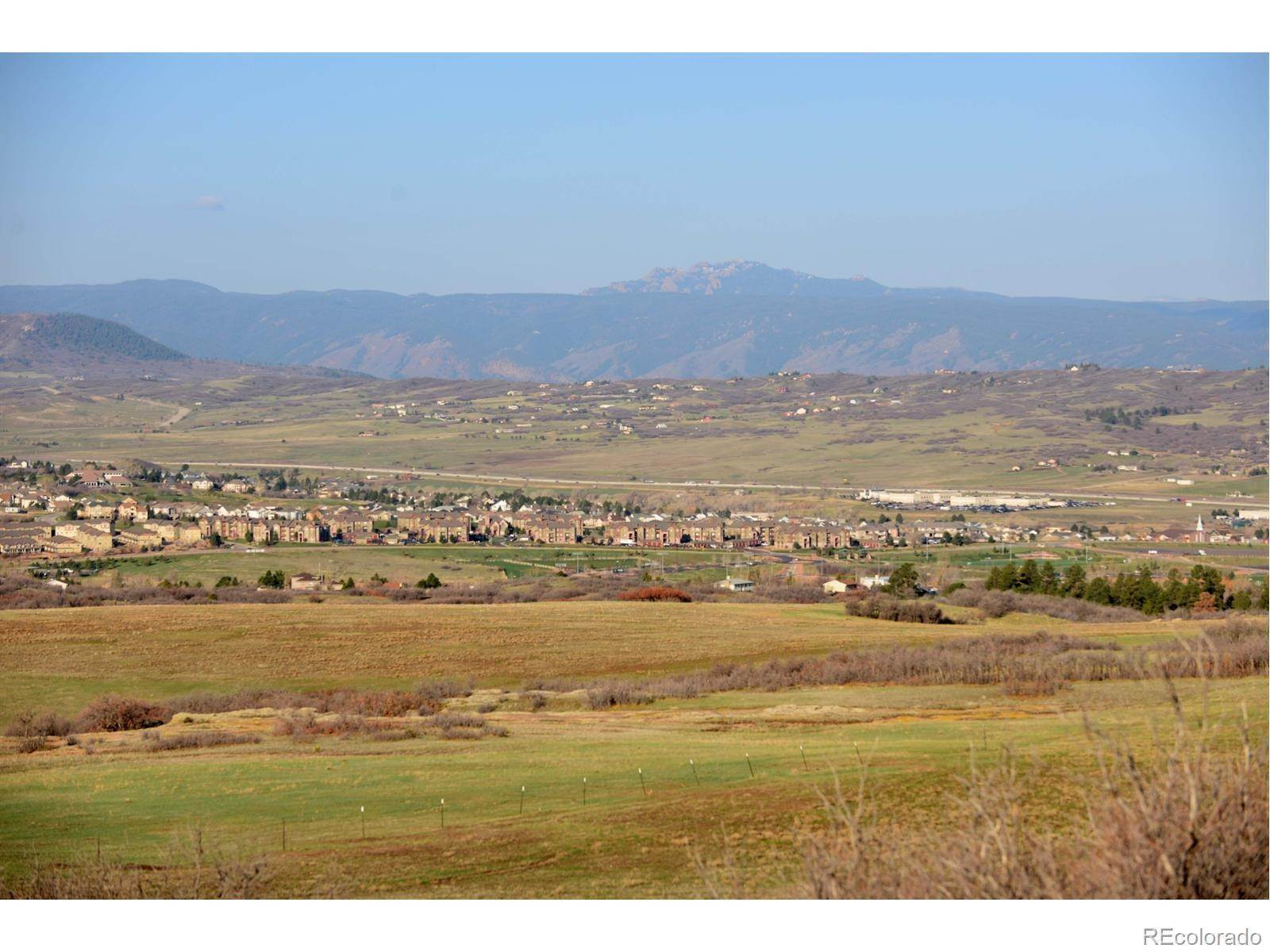 Land for Sale at NA RIDGE Road Castle Rock, Colorado 80104 United States