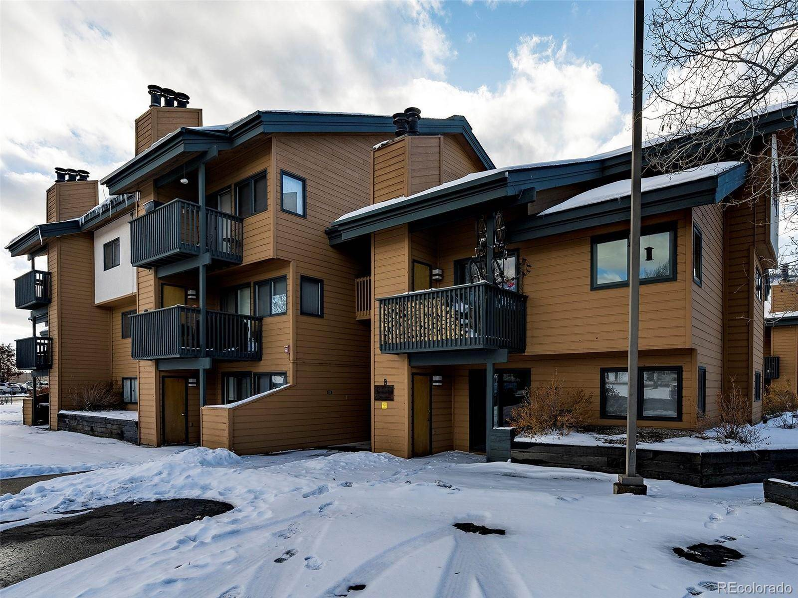 Condominiums at Steamboat Springs, Colorado United States
