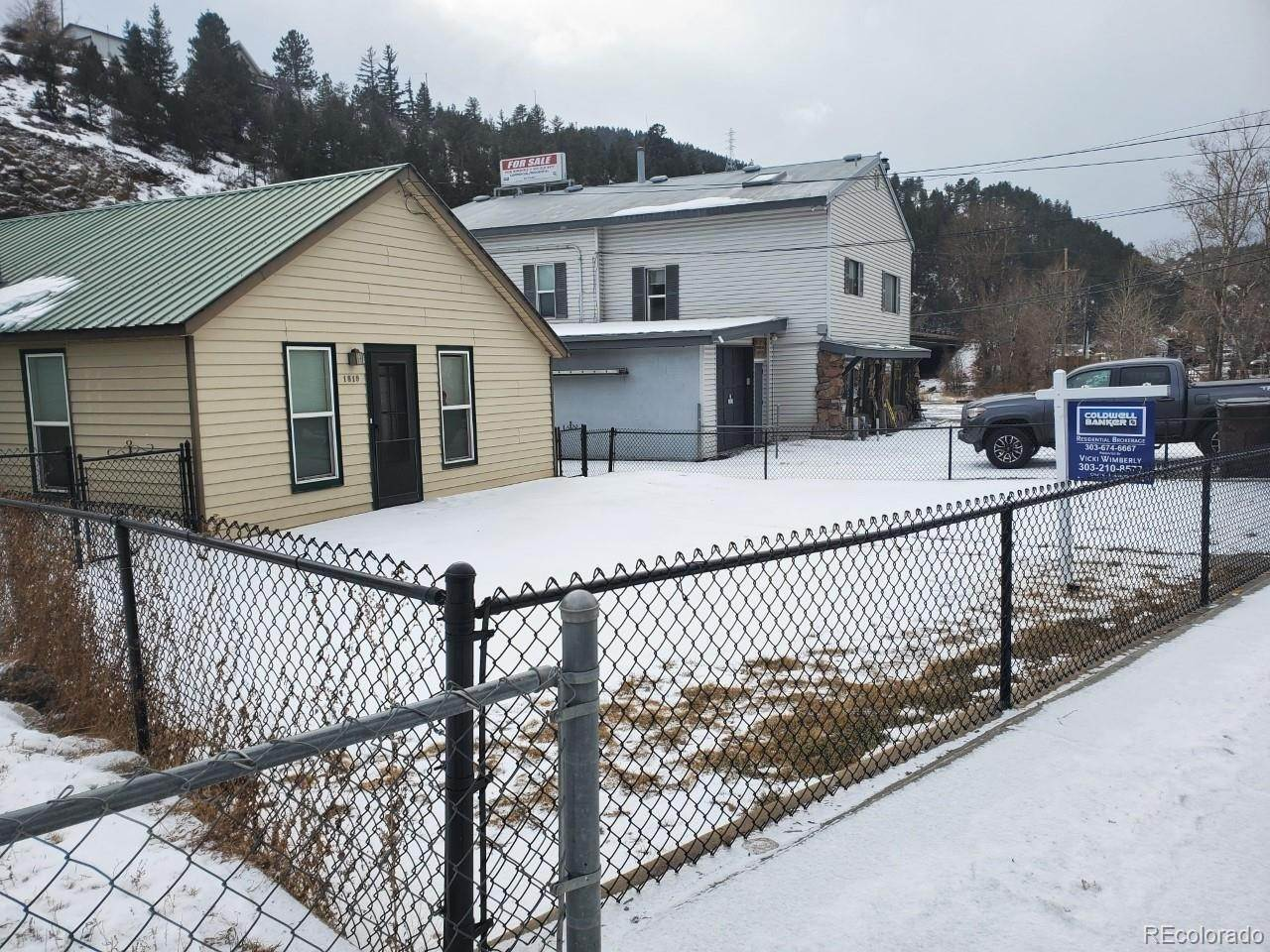 Single Family Homes for Sale at 1819 Miner Street Idaho Springs, Colorado 80452 United States