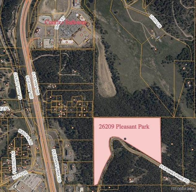 Land for Sale at 26209 S Pleasant Park Road Conifer, Colorado 80433 United States