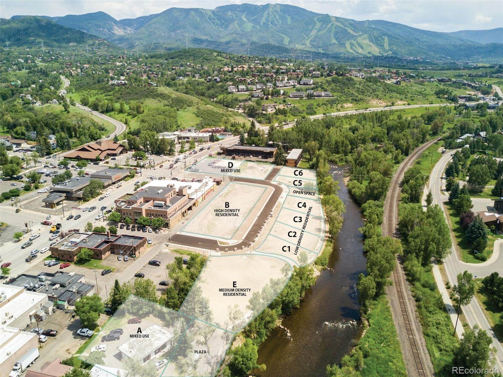 Land for Sale at 446 Yampa St- Riverview Parcel C1-C4 Steamboat Springs, Colorado 80487 United States