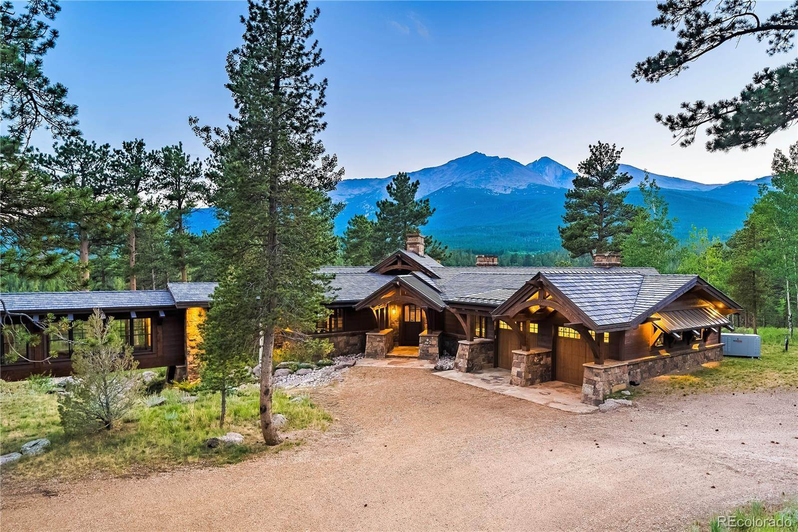 Single Family Homes por un Venta en 8501 Highway 7 Estes Park, Colorado 80517 Estados Unidos