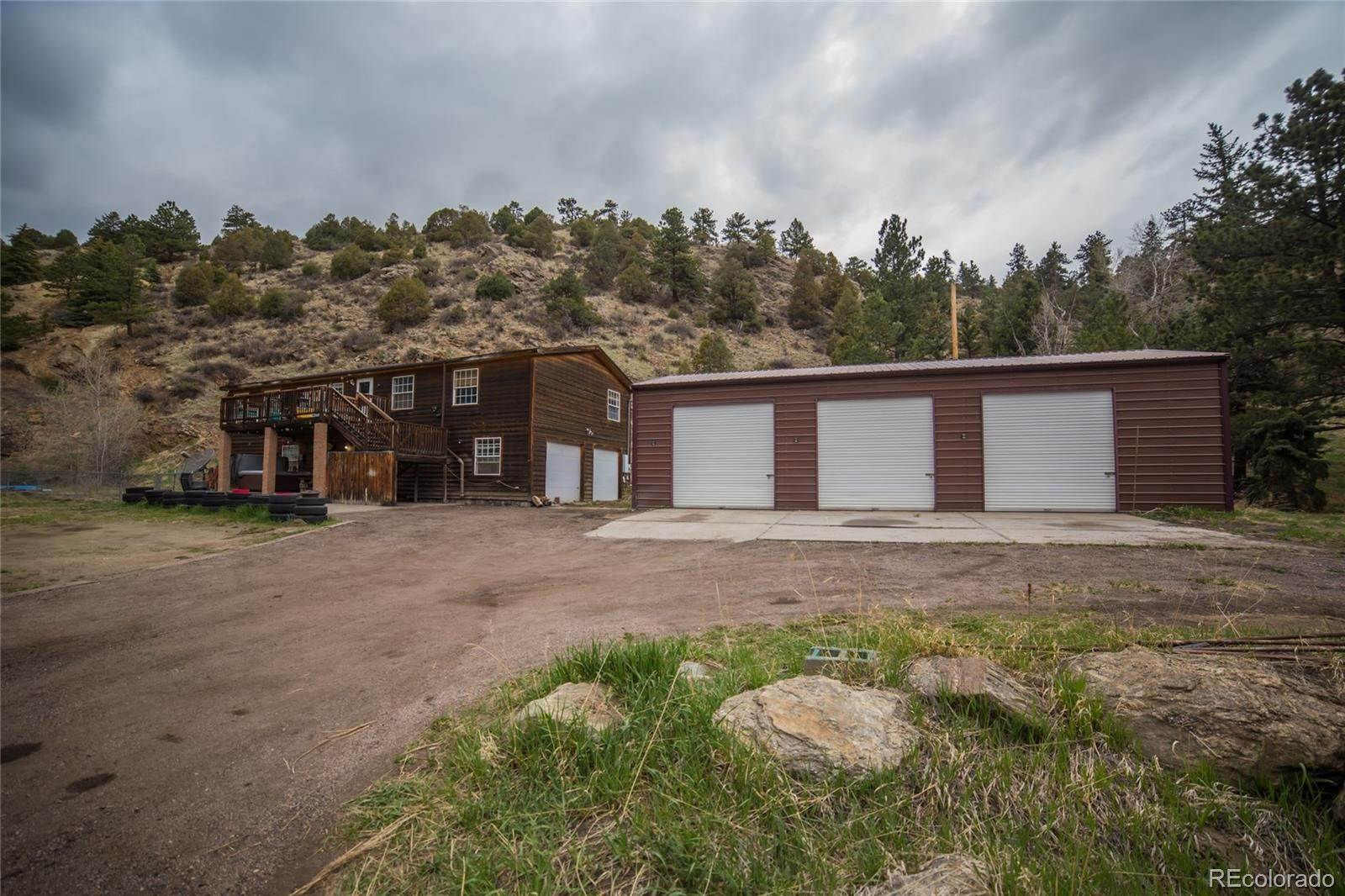 Single Family Homes for Sale at 1182 Chicago Creek Road Idaho Springs, Colorado 80452 United States