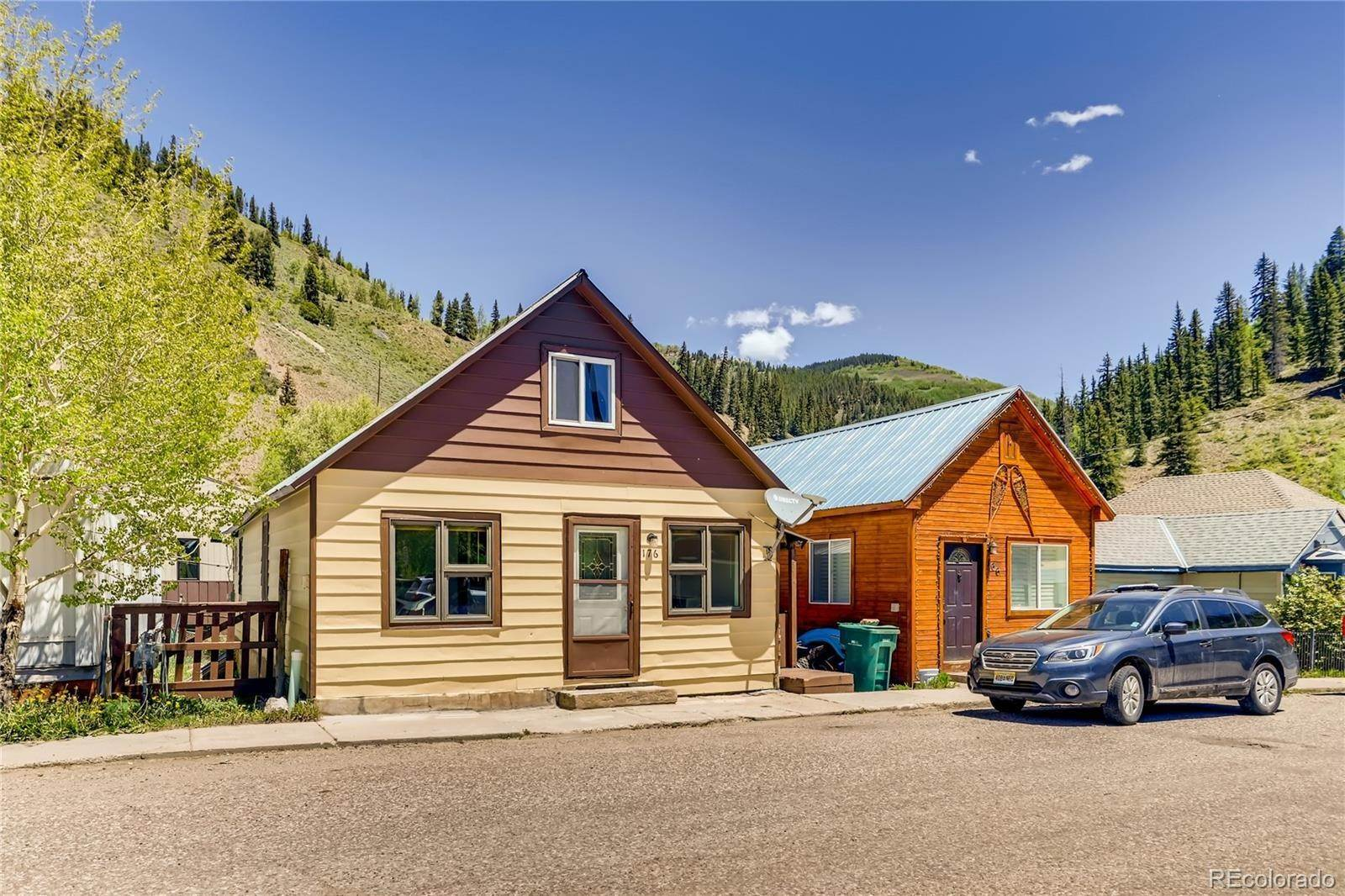 Single Family Homes pour l Vente à 176 Monument Street Red Cliff, Colorado 81649 États-Unis