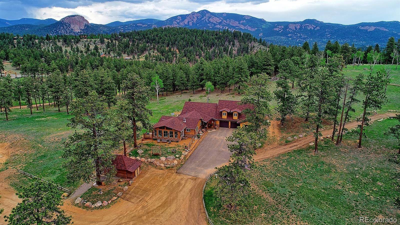 Single Family Homes pour l Vente à 2290 Nova Road Pine, Colorado 80470 États-Unis