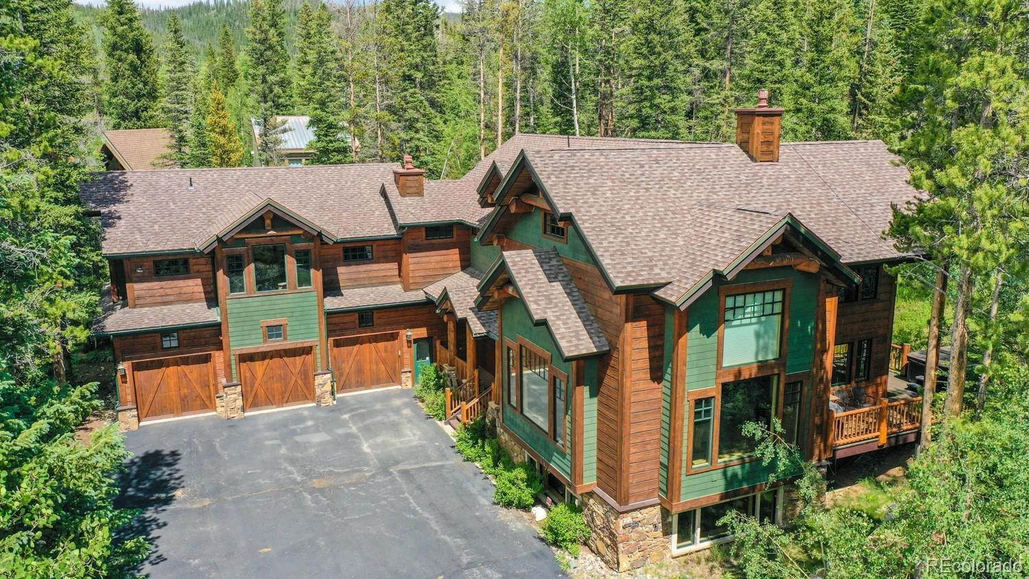 Single Family Homes pour l Vente à 104 Royal Tiger Road Breckenridge, Colorado 80424 États-Unis