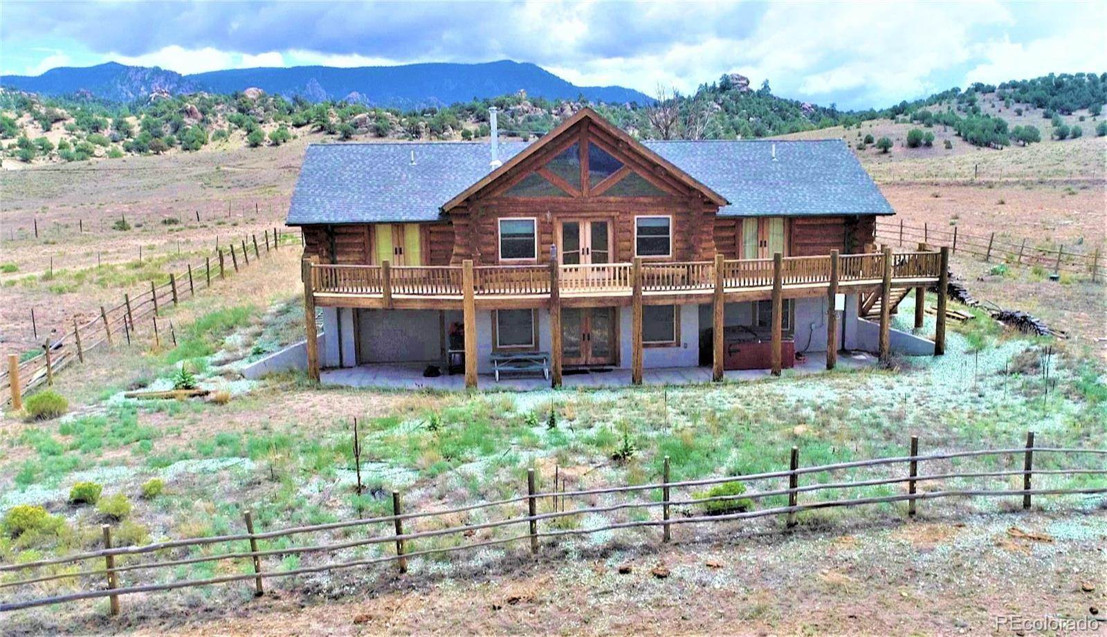 Single Family Homes pour l Vente à 19905 Nachtrieb Ranches Road Nathrop, Colorado 81236 États-Unis
