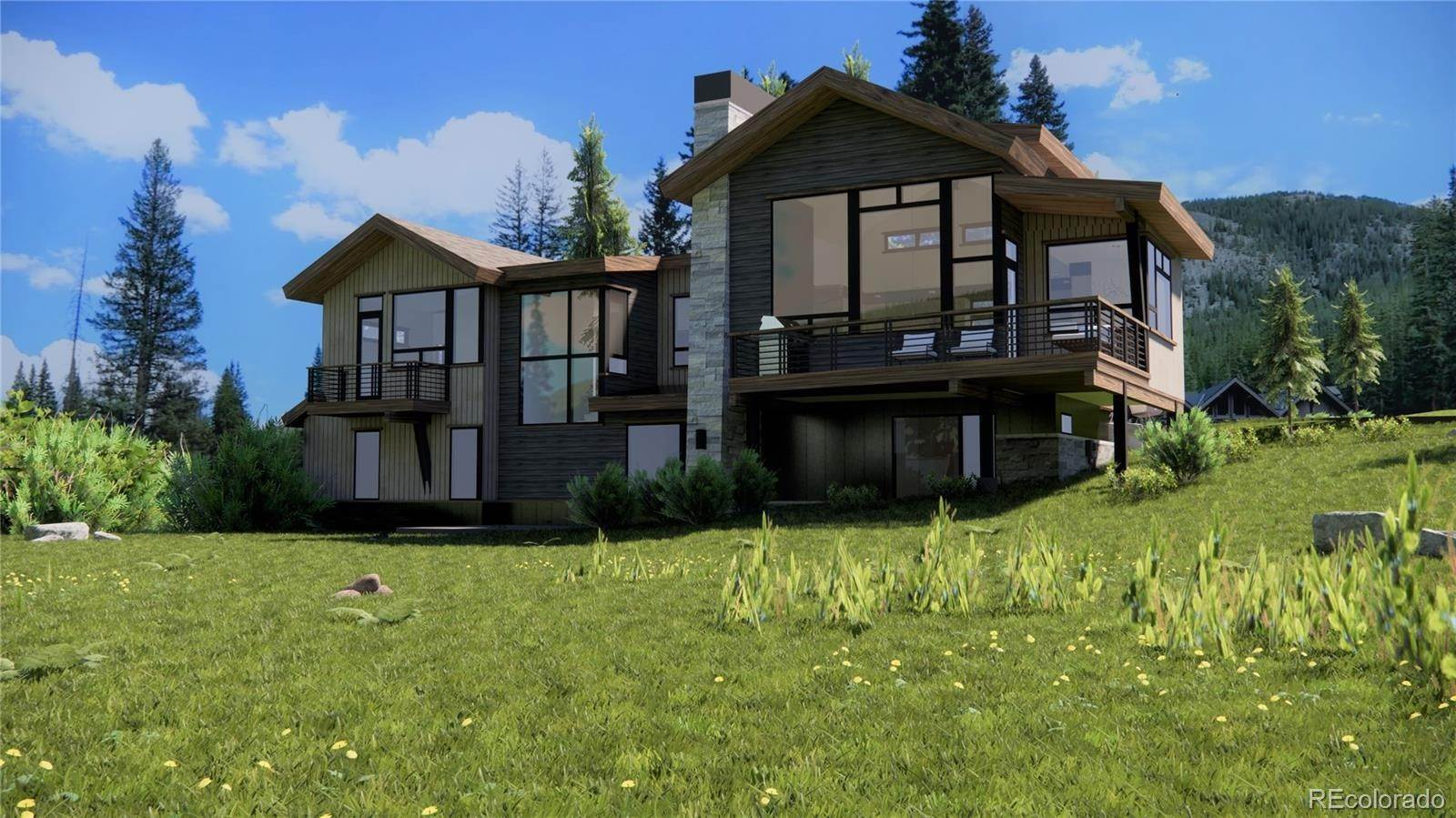 Single Family Homes pour l Vente à 427 Whispering Pines Circle Blue River, Colorado 80424 États-Unis