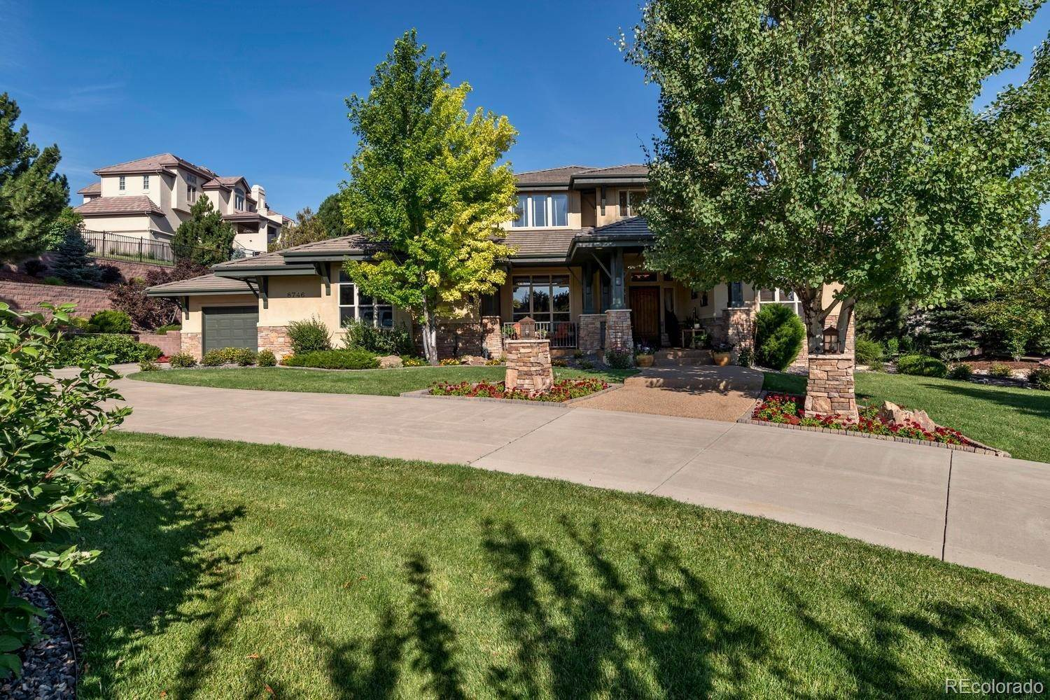 Single Family Homes for Sale at 8746 Crooked Stick Place Lone Tree, Colorado 80124 United States