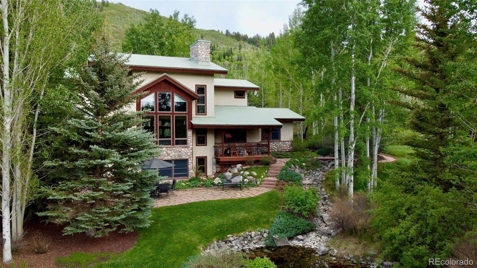Single Family Homes for Sale at 51400 County Road 129 Steamboat Springs, Colorado 80487 United States