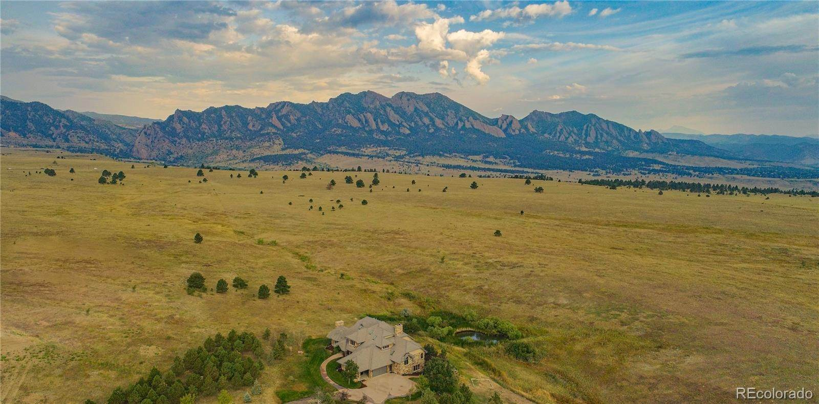 Single Family Homes pour l Vente à 3200 S Foothills Highway Boulder, Colorado 80303 États-Unis