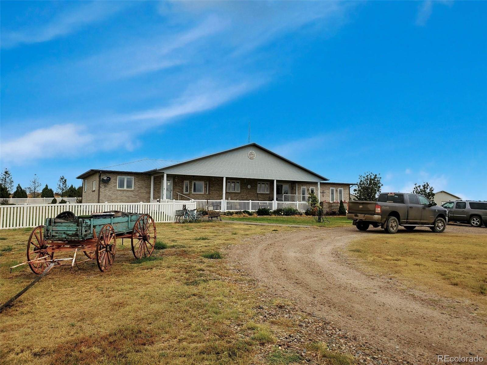Single Family Homes for Sale at 44373 County Road Q Cheyenne Wells, Colorado 80810 United States