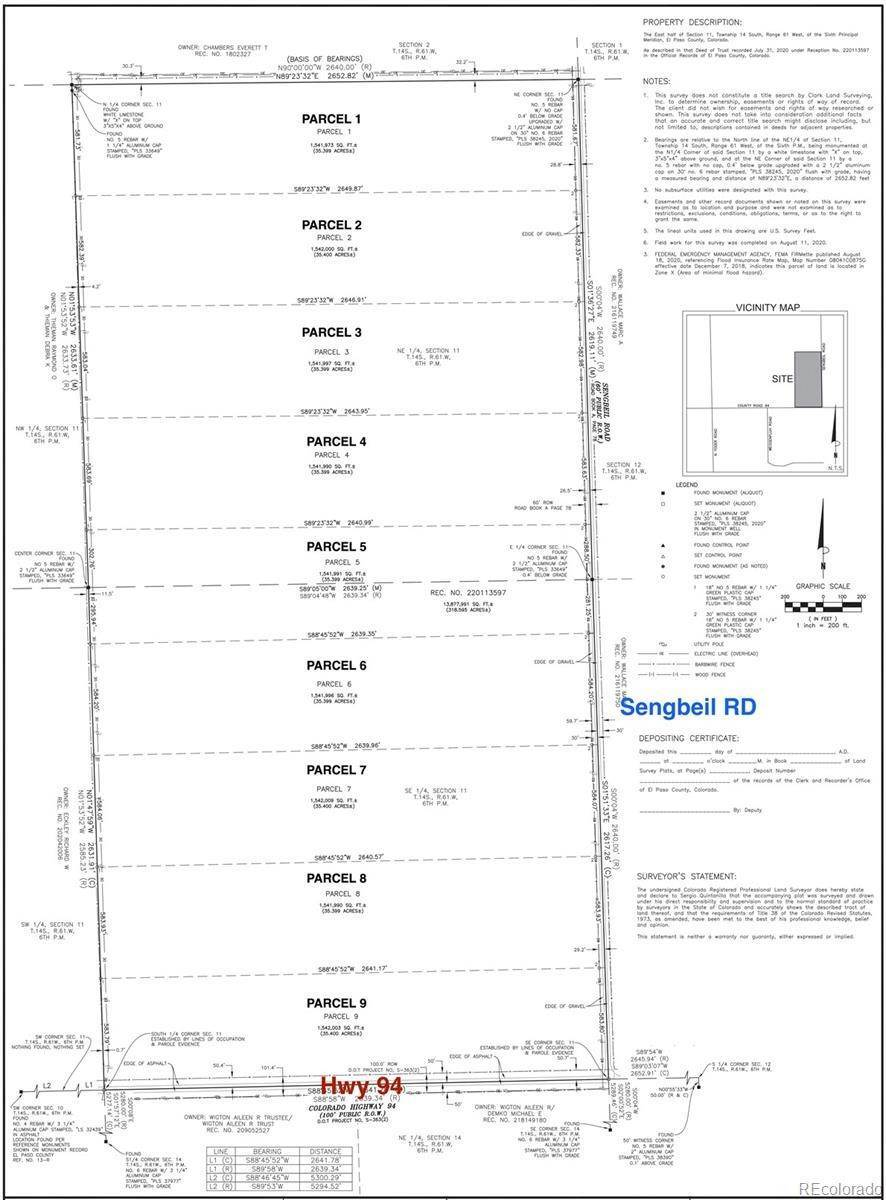 Land for Sale at Parcel 4 Sengbeil Road Yoder, Colorado 80864 United States
