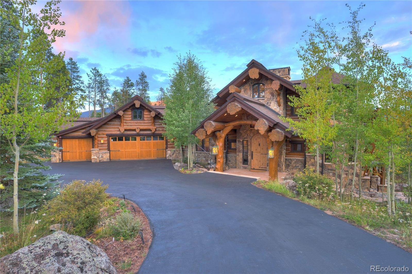 Single Family Homes pour l Vente à 56 Wild Cat Road Breckenridge, Colorado 80424 États-Unis