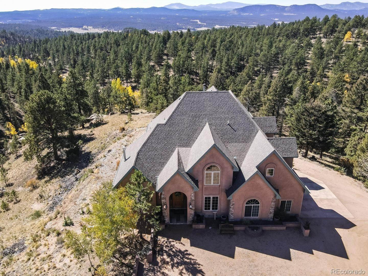 Single Family Homes for Sale at 4565 W Highway 24 Florissant, Colorado 80816 United States