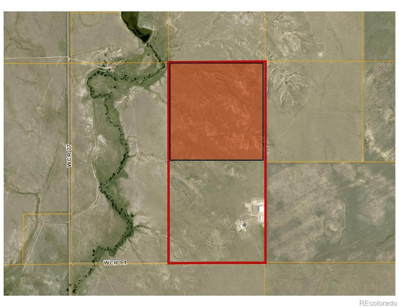 Land for Sale at County Road 77 Briggsdale, Colorado 80611 United States