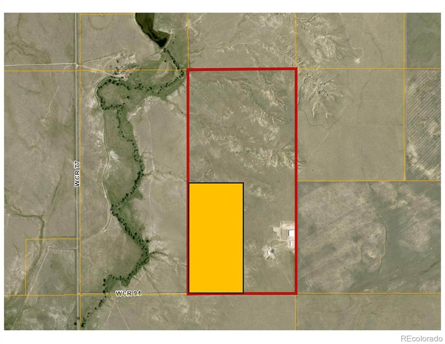 Land for Sale at County Road 94 and 77 Briggsdale, Colorado 80611 United States