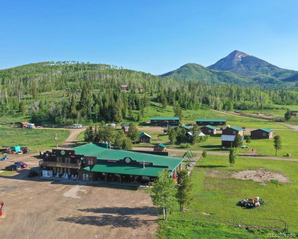 Single Family Homes for Sale at 60880 County Road 129 Clark, Colorado 80428 United States
