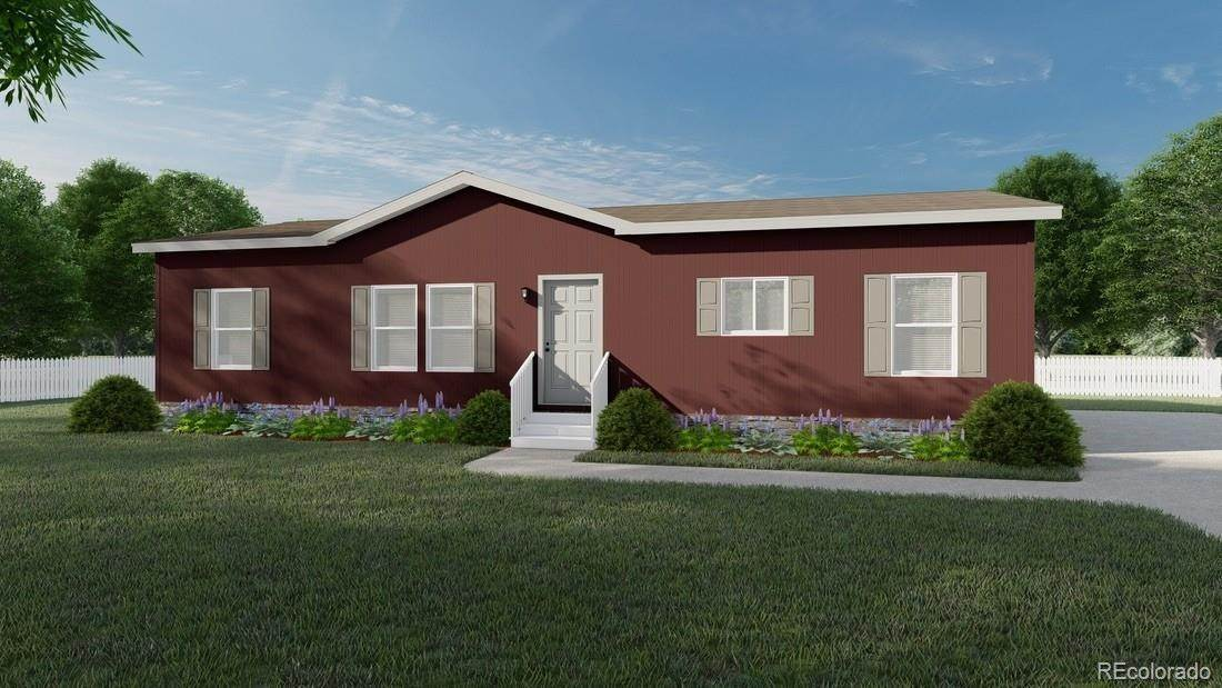 Single Family Homes pour l Vente à 6440 Henderson Lane Calhan, Colorado 80808 États-Unis