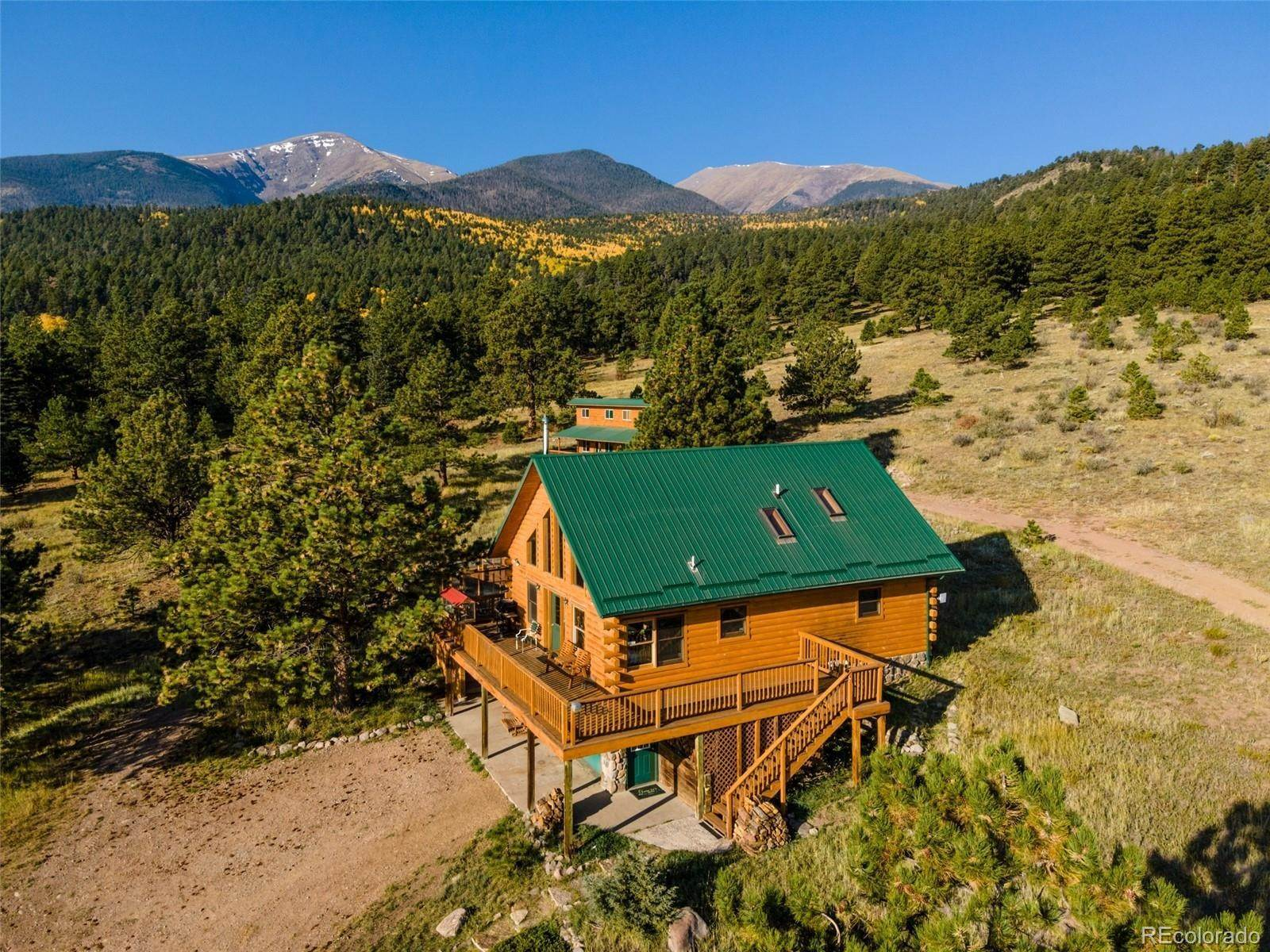 Single Family Homes pour l Vente à 920 Co Road 124 Westcliffe, Colorado 81252 États-Unis