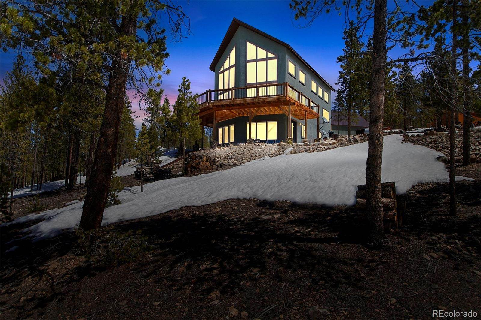 Single Family Homes pour l Vente à 1500 County Road 36 Leadville, Colorado 80461 États-Unis