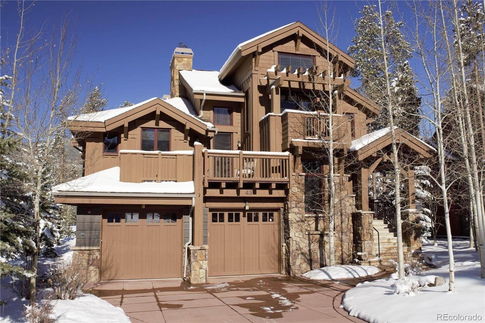 Single Family Homes pour l Vente à 43 Elk Spur Lane Keystone, Colorado 80435 États-Unis