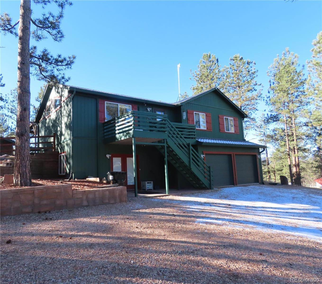 Single Family Homes por un Venta en 517 Crystal Peak Road Florissant, Colorado 80816 Estados Unidos