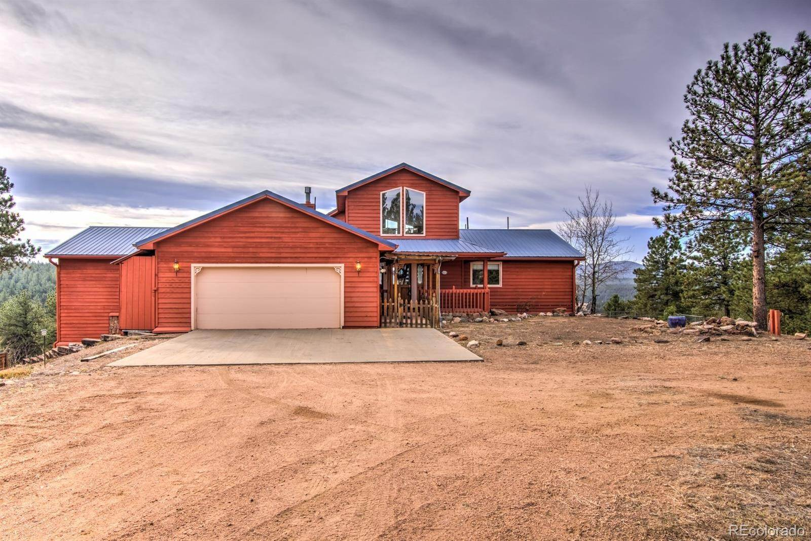 Single Family Homes for Sale at 1053 Circle Drive Florissant, Colorado 80816 United States