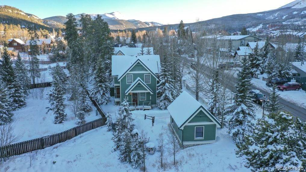 Single Family Homes pour l Vente à 314 N French Street Breckenridge, Colorado 80424 États-Unis