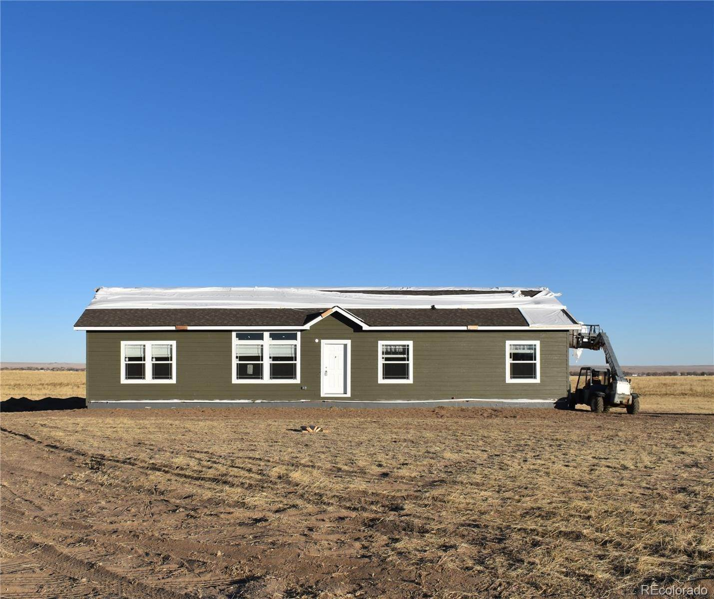 Single Family Homes pour l Vente à 923 Spotted Owl Way Calhan, Colorado 80808 États-Unis